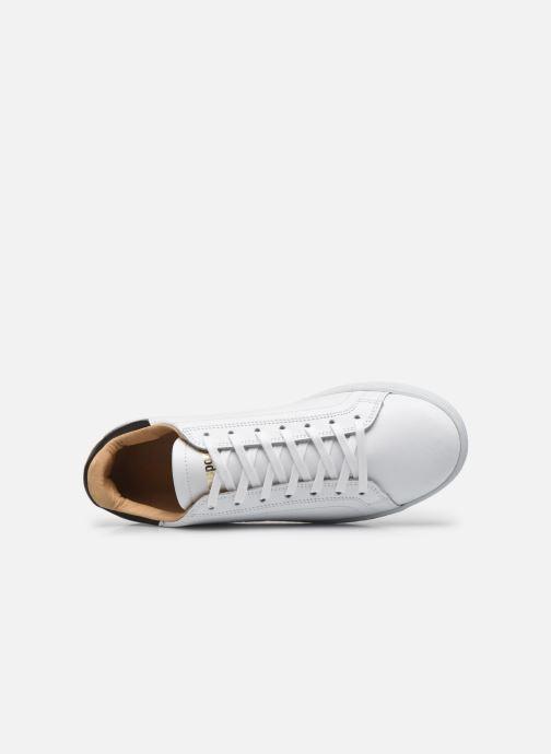Sneaker Le Coq Sportif Avantage weiß ansicht von links