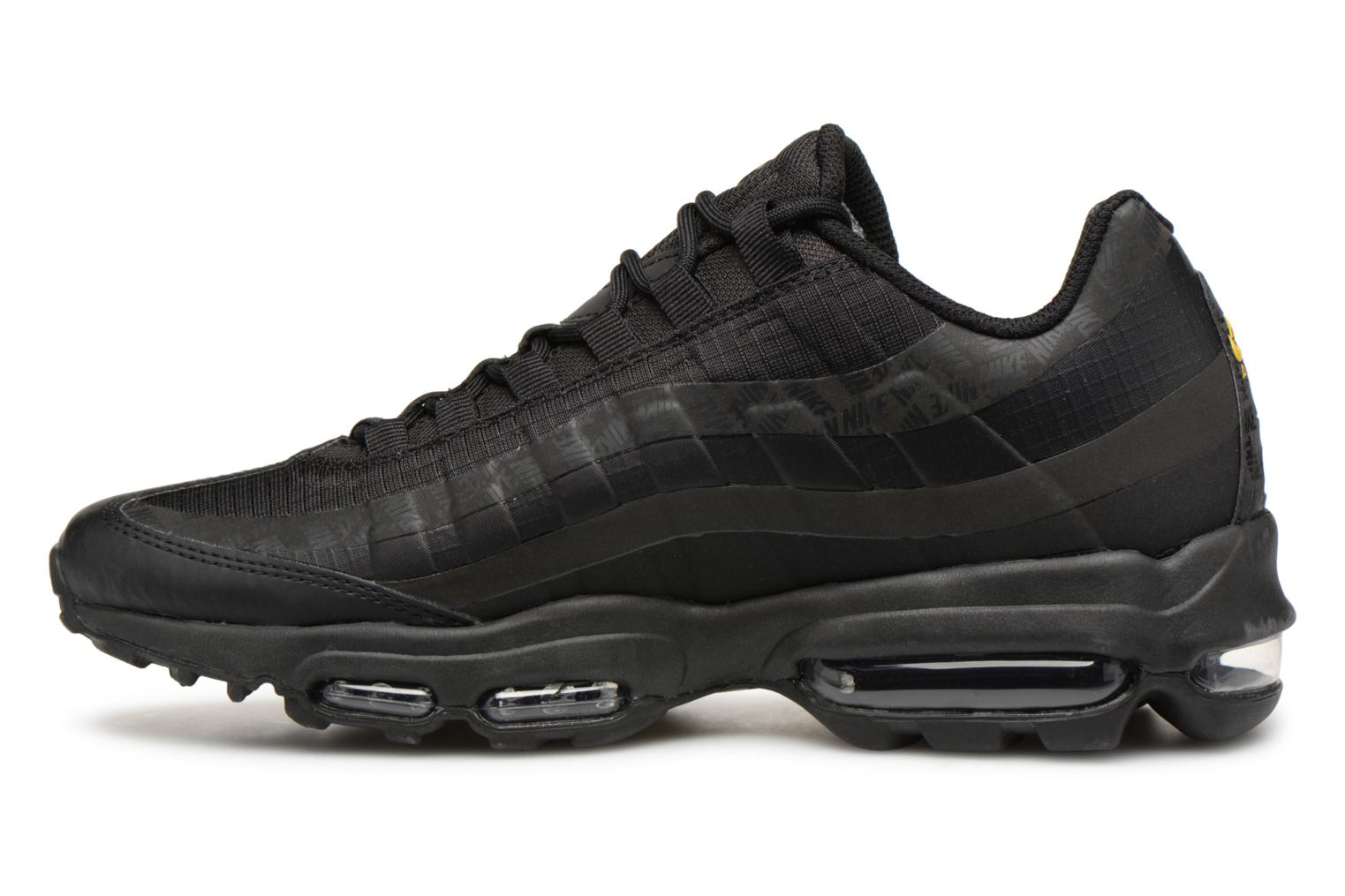 Baskets Nike Air Max 95 Ultra Noir vue face