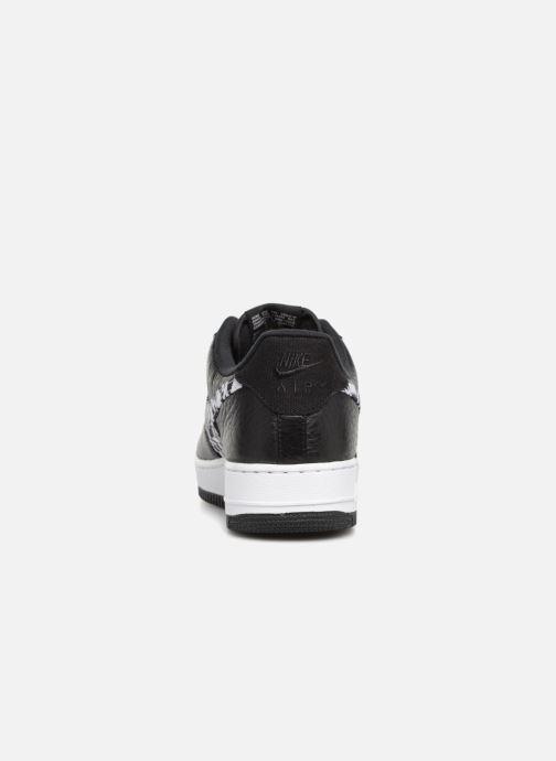 Baskets Nike Air Force 1 Aop Prm Blanc vue droite