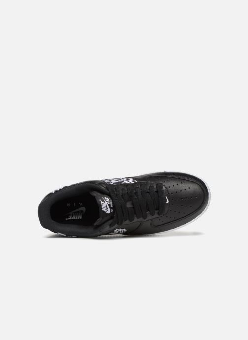 Sneaker Nike Air Force 1 Aop Prm weiß ansicht von links