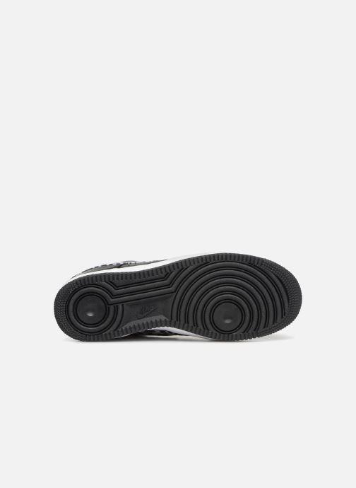 Sneaker Nike Air Force 1 Aop Prm weiß ansicht von oben