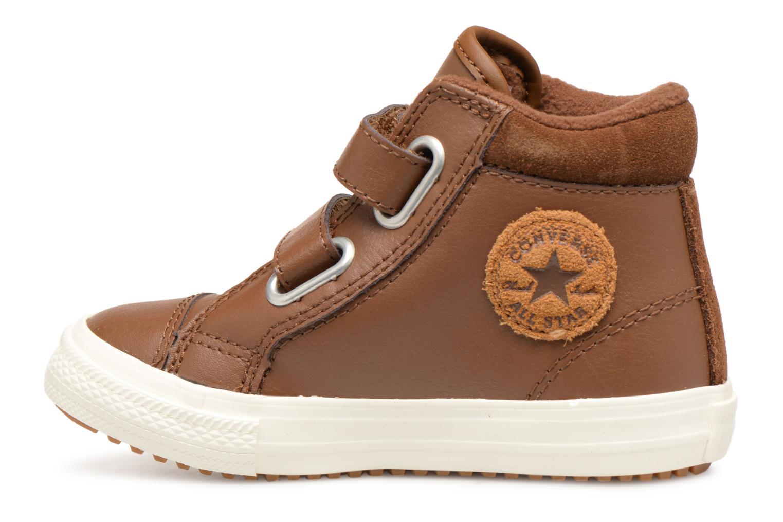 Baskets Converse Chuck Taylor All Star 2V Pc Boot Hi Marron vue face
