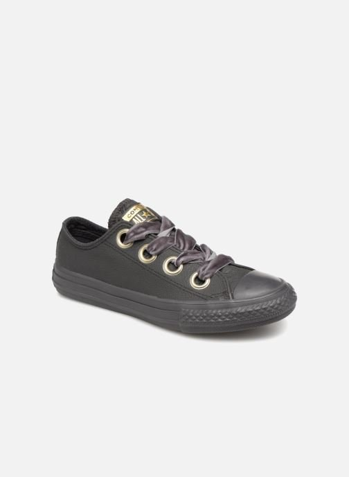 Trainers Converse Chuck Taylor All Star Big Eyelets Ox K Black detailed  view  Pair view e1bdb2807