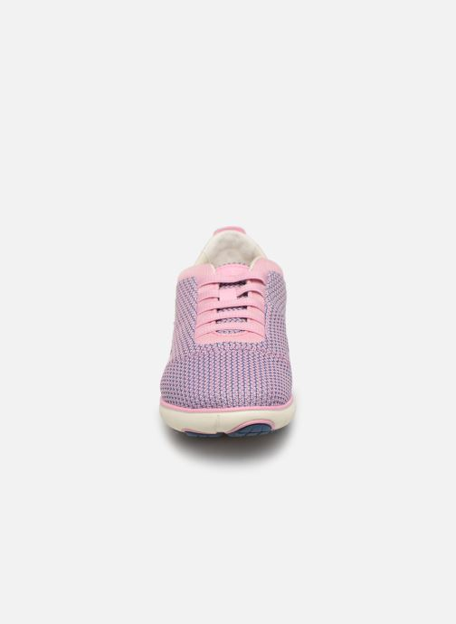 Baskets Geox D Nebula G D621EG Rose vue portées chaussures