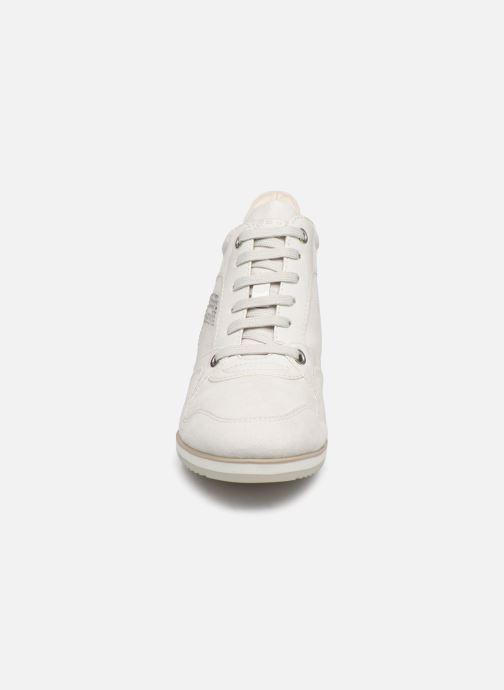 Baskets Geox D Persefone A D5454A Blanc vue portées chaussures