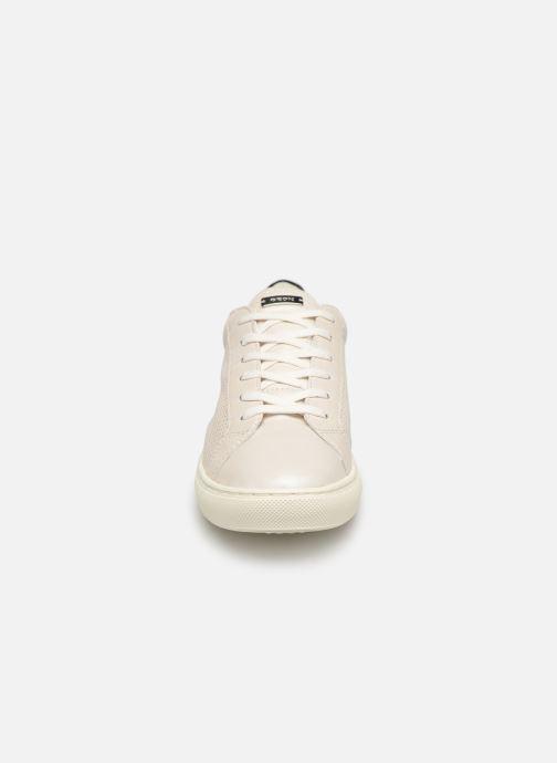 Baskets Geox D Trysure A D724CA Blanc vue portées chaussures