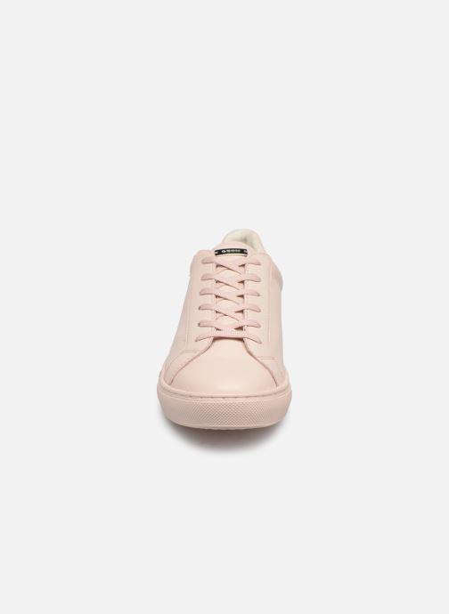 Baskets Geox D Trysure A D724CA Rose vue portées chaussures