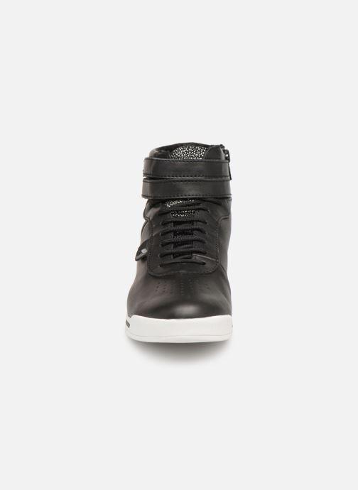 Baskets Geox D Chewa B D724MB Noir vue portées chaussures