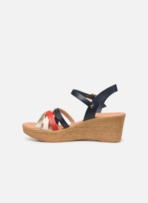 Sandales et nu-pieds Georgia Rose Mireilla Bleu vue face