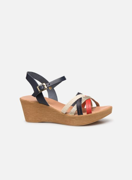 Sandales et nu-pieds Georgia Rose Mireilla Bleu vue derrière