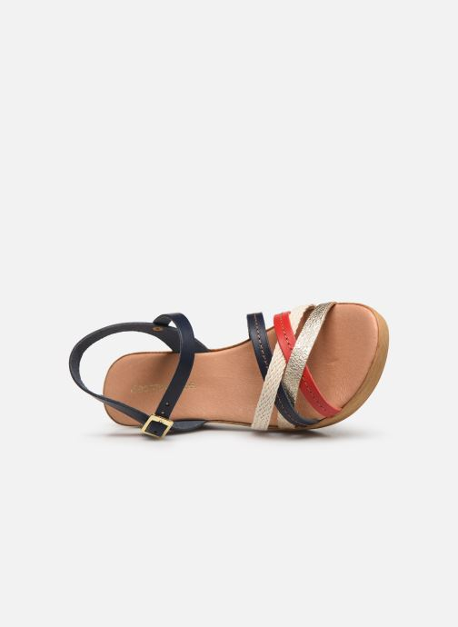 Sandales et nu-pieds Georgia Rose Mireilla Bleu vue gauche