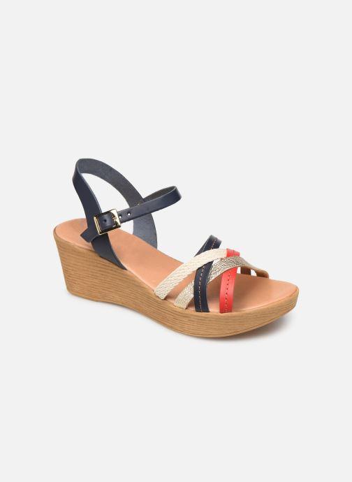 Sandales et nu-pieds Georgia Rose Mireilla Bleu vue détail/paire