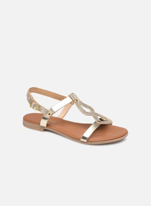 Sandales et nu-pieds Georgia Rose Migouta Or et bronze vue détail/paire