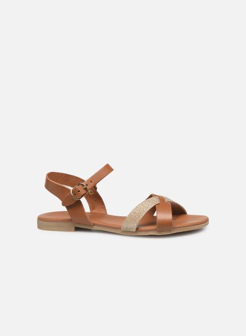 Sandales et nu-pieds Georgia Rose Millya Marron vue derrière