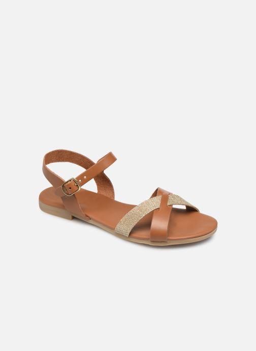 Sandales et nu-pieds Georgia Rose Millya Marron vue détail/paire