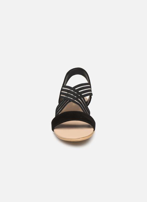 Sandales et nu-pieds Georgia Rose Mibesta Noir vue portées chaussures