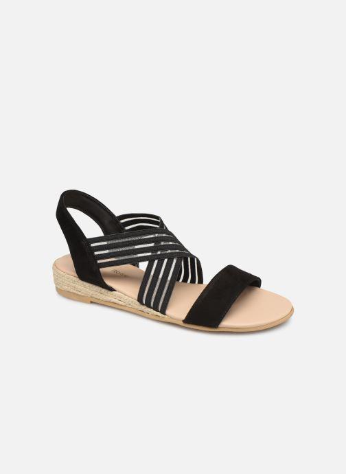 Sandales et nu-pieds Georgia Rose Mibesta Noir vue détail/paire