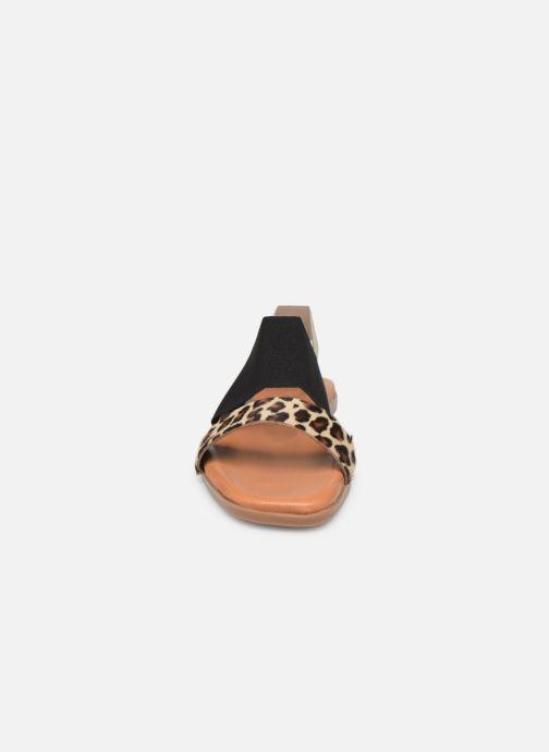 Sandales et nu-pieds Georgia Rose Milastic Noir vue portées chaussures