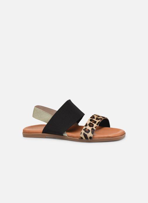 Sandales et nu-pieds Georgia Rose Milastic Noir vue derrière