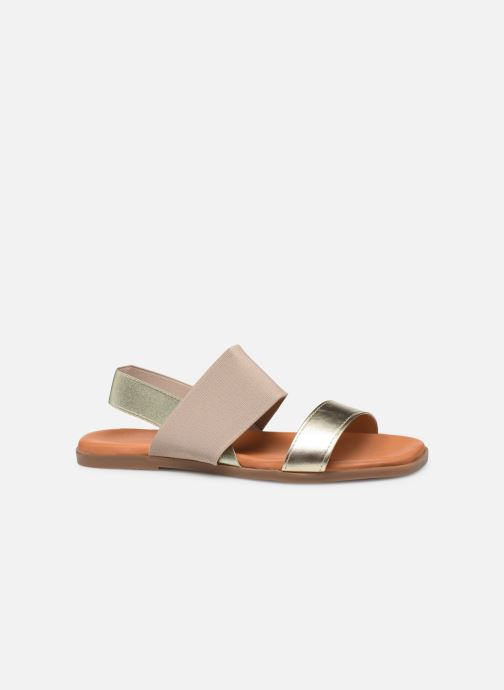 Sandales et nu-pieds Georgia Rose Milastic Or et bronze vue derrière