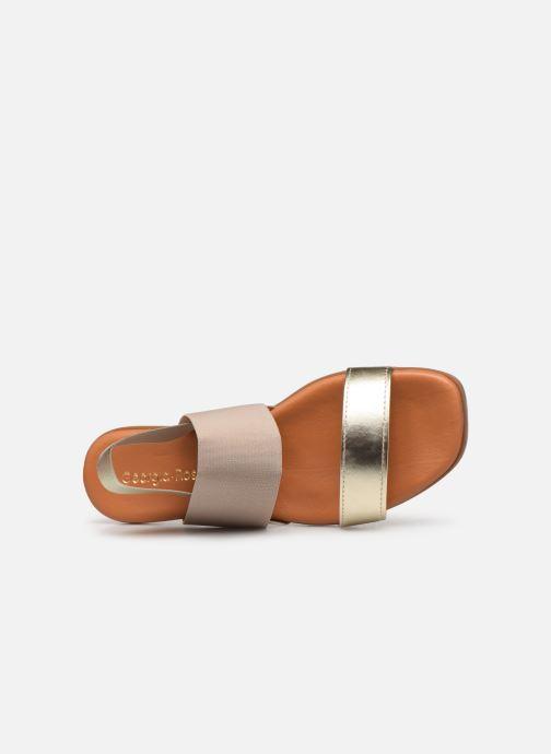 Sandales et nu-pieds Georgia Rose Milastic Or et bronze vue gauche