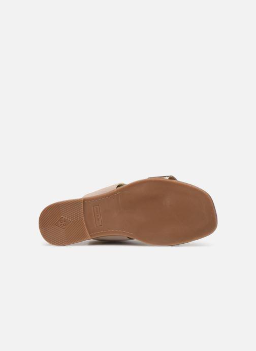 Sandales et nu-pieds Georgia Rose Milastic Or et bronze vue haut