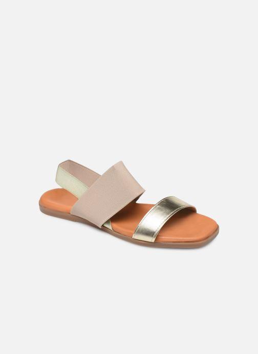 Sandales et nu-pieds Georgia Rose Milastic Or et bronze vue détail/paire
