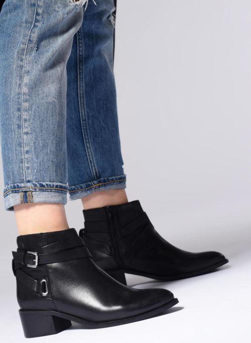 Bottines et boots L'Atelier Tropézien GU78964 Noir vue bas / vue portée sac