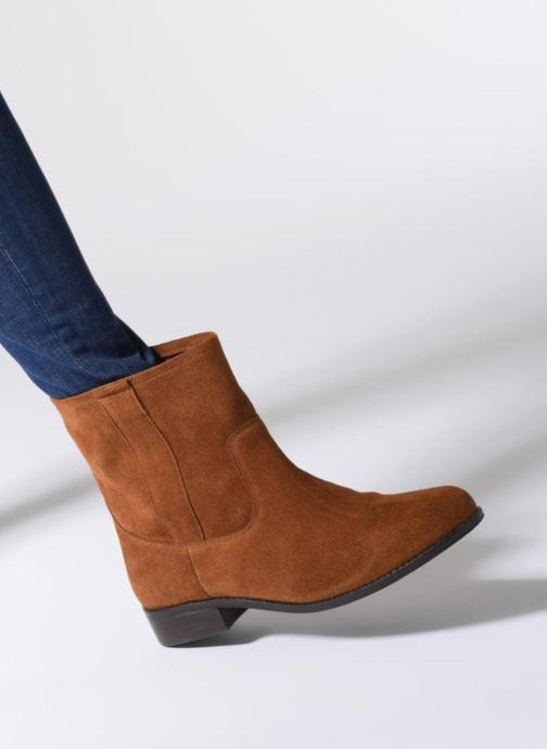 Boots en enkellaarsjes L'Atelier Tropézien TR8257-A Bruin onder