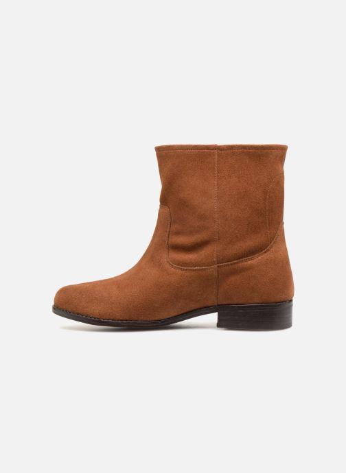 Boots en enkellaarsjes L'Atelier Tropézien TR8257-A Bruin voorkant