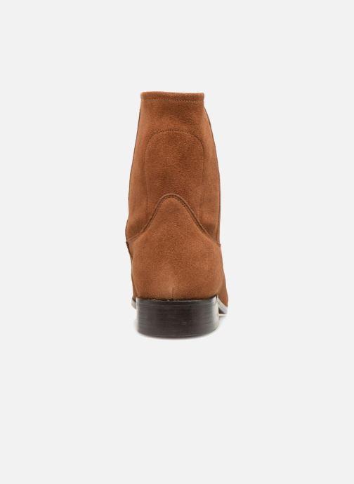 Boots en enkellaarsjes L'Atelier Tropézien TR8257-A Bruin rechts