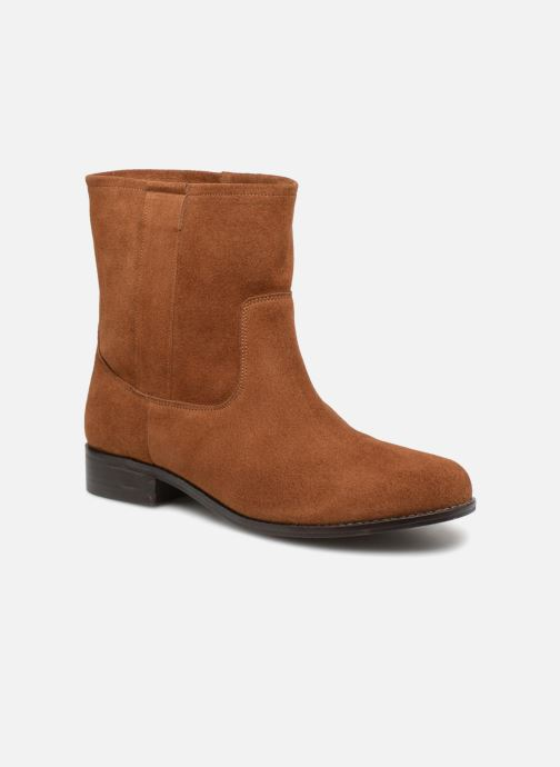 Boots en enkellaarsjes L'Atelier Tropézien TR8257-A Bruin detail