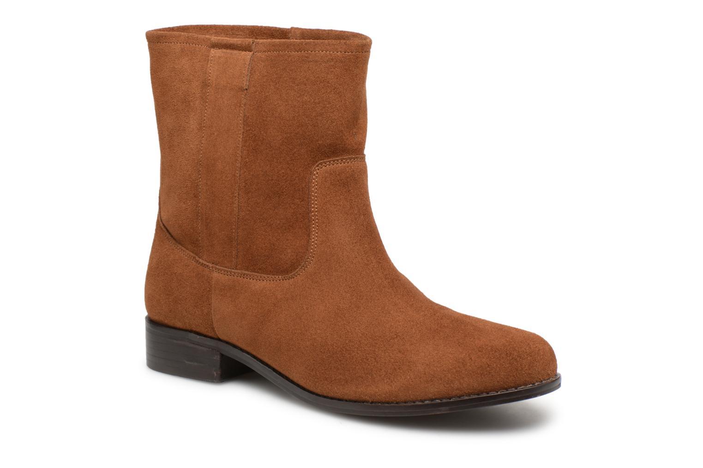 Bottines et boots L'Atelier Tropézien TR8257-A Marron vue détail/paire