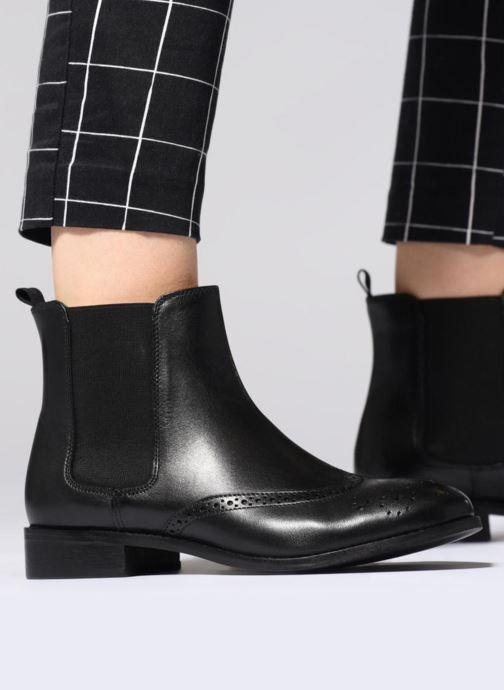 Bottines et boots L'Atelier Tropézien GU84456 Noir vue bas / vue portée sac