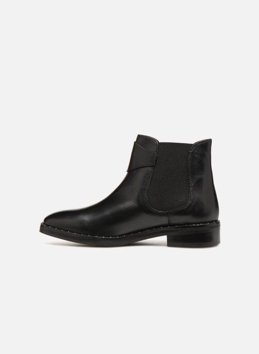 Boots en enkellaarsjes L'Atelier Tropézien GU84456 Zwart voorkant