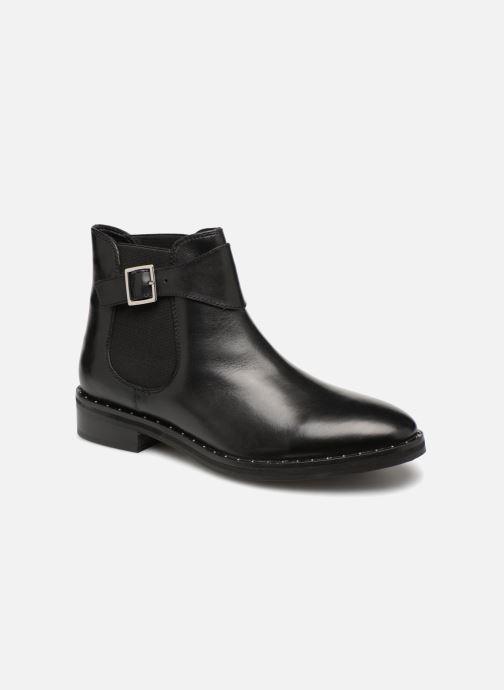 Boots en enkellaarsjes L'Atelier Tropézien GU84456 Zwart detail