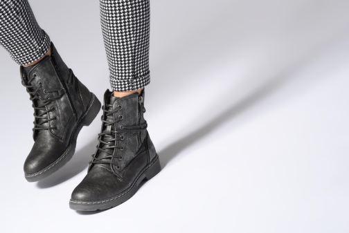 Boots en enkellaarsjes Mustang shoes 1235611 Grijs onder