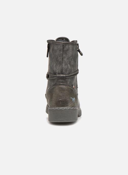 Boots en enkellaarsjes Mustang shoes 1235611 Grijs rechts