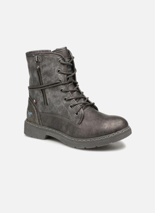 Boots en enkellaarsjes Mustang shoes 1235611 Grijs detail