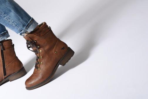 Boots en enkellaarsjes Mustang shoes 1264607 Bruin onder