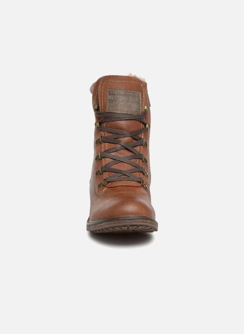 Boots en enkellaarsjes Mustang shoes 1264607 Bruin model