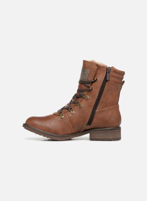 Boots en enkellaarsjes Mustang shoes 1264607 Bruin voorkant