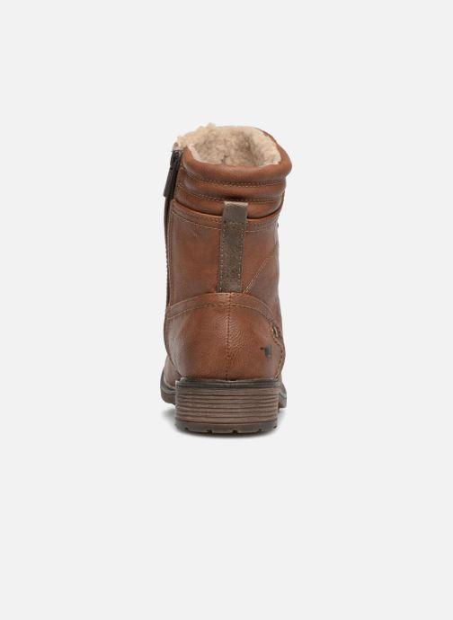 Boots en enkellaarsjes Mustang shoes 1264607 Bruin rechts