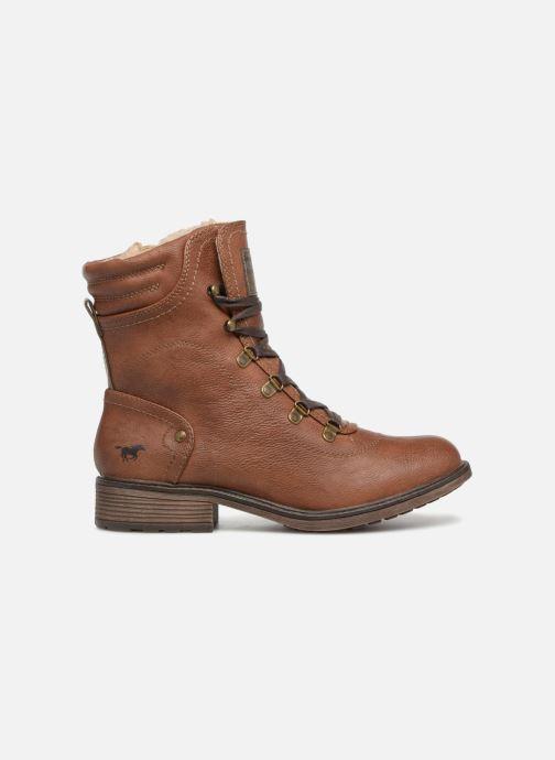 Boots en enkellaarsjes Mustang shoes 1264607 Bruin achterkant