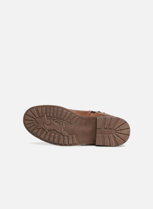 Boots en enkellaarsjes Mustang shoes 1264607 Bruin boven