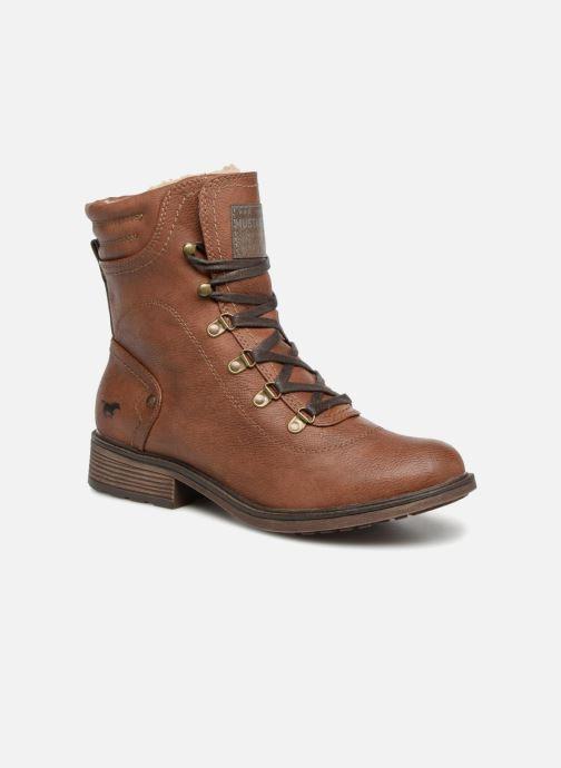 Boots en enkellaarsjes Mustang shoes 1264607 Bruin detail