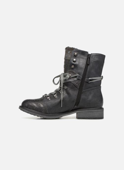 Boots en enkellaarsjes Mustang shoes 124611 Blauw voorkant