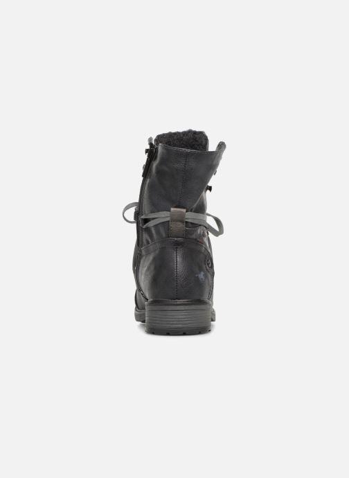 Boots en enkellaarsjes Mustang shoes 124611 Blauw rechts