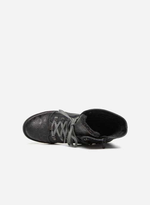Boots en enkellaarsjes Mustang shoes 124611 Blauw links
