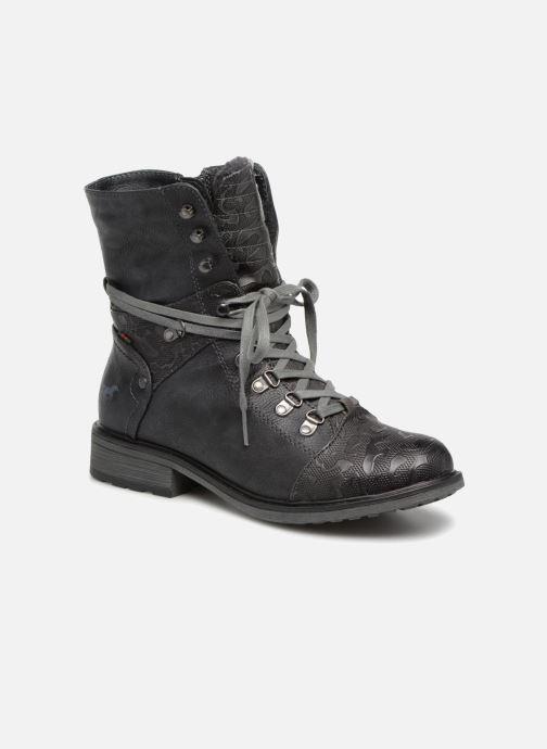 Boots en enkellaarsjes Mustang shoes 124611 Blauw detail
